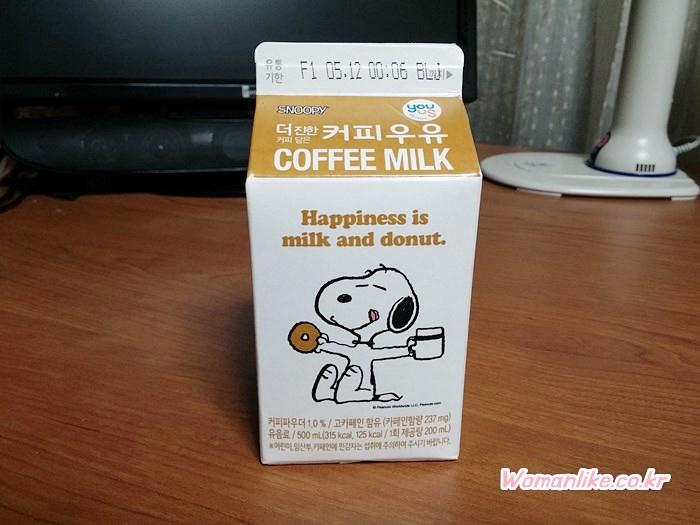 스누피 커피우유 (3)
