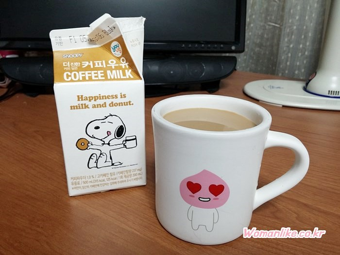 스누피 커피우유 (6)