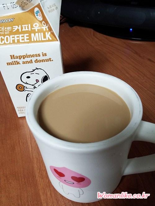 스누피 커피우유 (7)