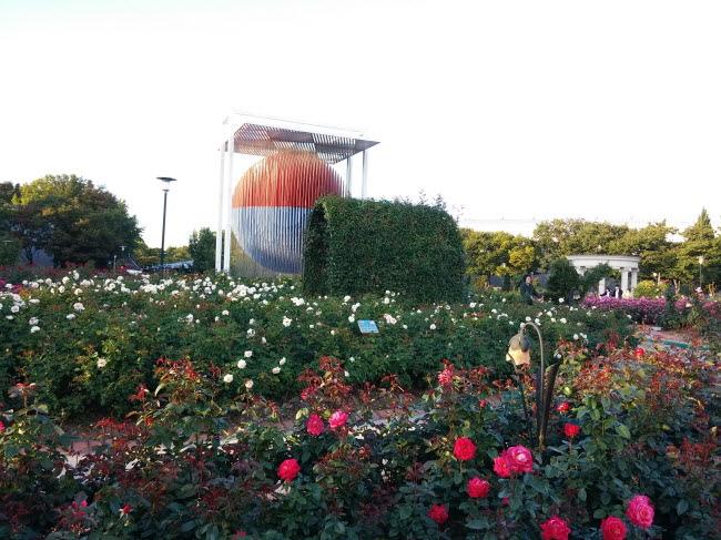 올림픽공원 장미원