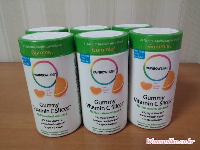레인보우라이트 귤젤리 아이허브 귤젤리 비타민C (2)