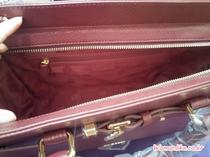 세인트스코트 가방 뉴카렌 토트백 딥베리 와인 (3)