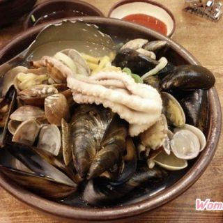 도농 맛집 최고집칼국수 해물칼국수 만두 (2)