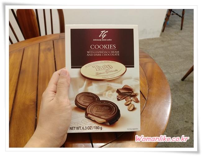 타고 에스프레소 크림 쿠키