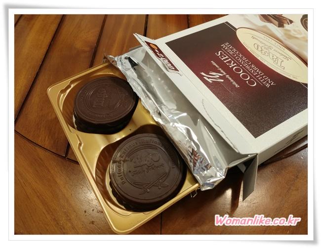 타고 에스프레소 크림 쿠키 커피맛과자