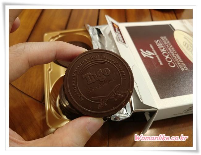 타고 에스프레소 크림 쿠키 초콜릿