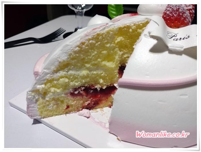 파리바게트 케이크 행복해 딸기케이크 (4)