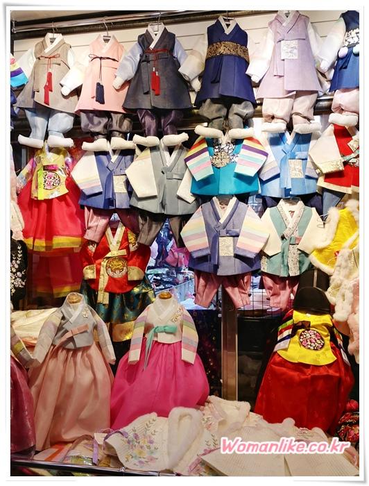 광장시장 한복 저렴한 아동한복 (1)
