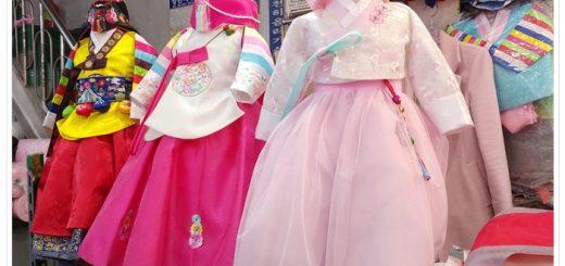 광장시장 한복 저렴한 아동한복 (3)