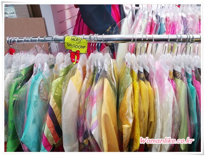 광장시장 한복 저렴한 아동한복 (4)