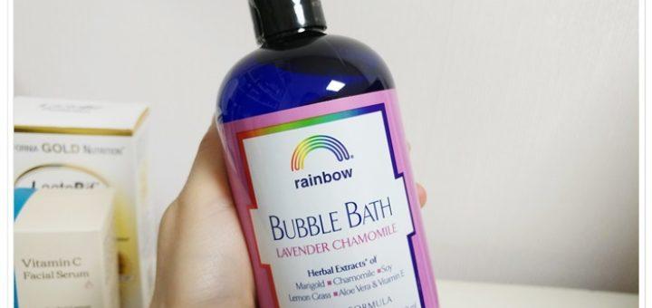 레인보우 거품목욕 버블바스 Rainbow Research (2)