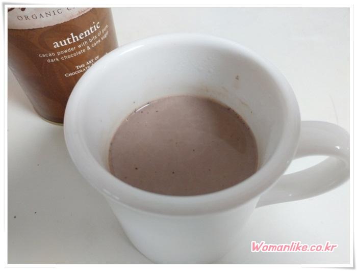 아이허브 다고바 DAGOBA 핫 초콜릿 (2)