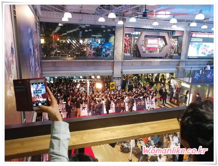 코엑스 메가박스 창궐 시사회 (2)