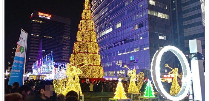 청계천 크리스마스 페스티벌 불빛 축제 (1)