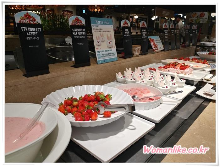 애슐리W 딸기 축제 의정부 맛집 (3)