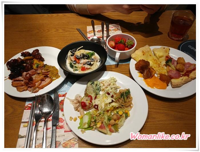 애슐리W 딸기 축제 의정부 맛집 (7)
