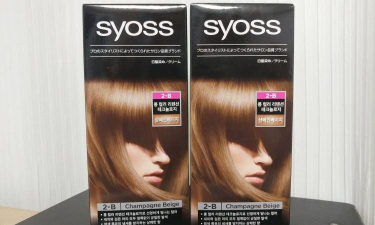 syoss 사이오스 프로페셔널 염색약 2-B 샴페인베이지 (1)