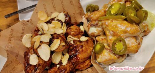 푸라닭 치킨 블랙마요 반반 (2)